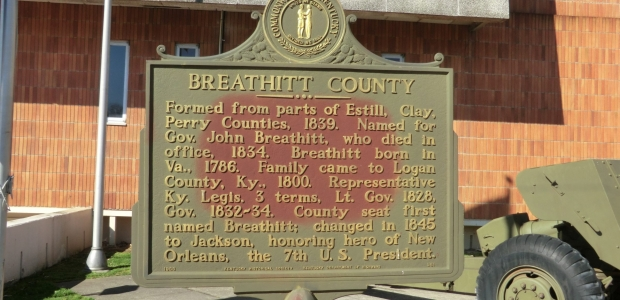 Breathitt County Marker